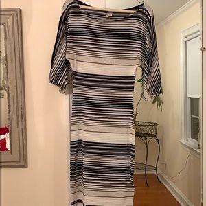 Venus Striped Dress